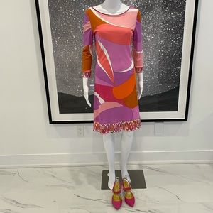 Emilio Pucci 3/4 Sleeve Dress